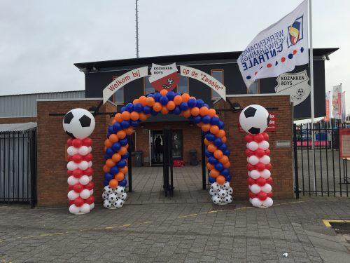 Ballonnenboog Big voetbal