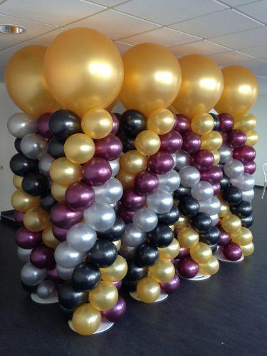 Ballonnenpilaar big metalic