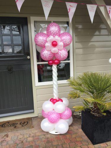 Ballonnenpilaar flower baby